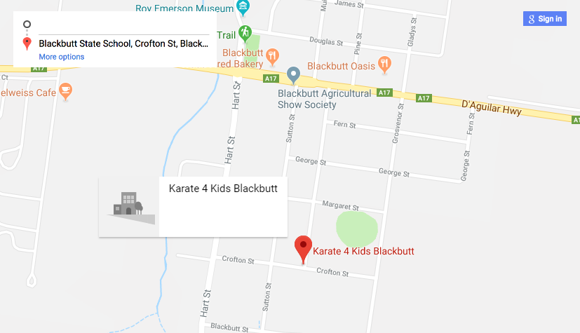 Blackbutt Location