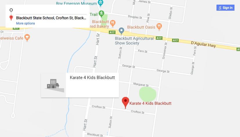 Blackbutt Location